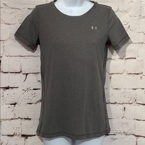 🆕Under Armour HeatGear Fitted Tee, Size XS